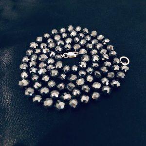 Jewelry - Black Moissanite Necklace
